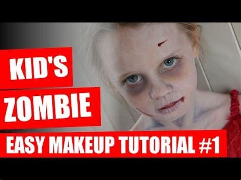 zombie tutorial easy halloween makeup tutorial kids zombie makeup youtube
