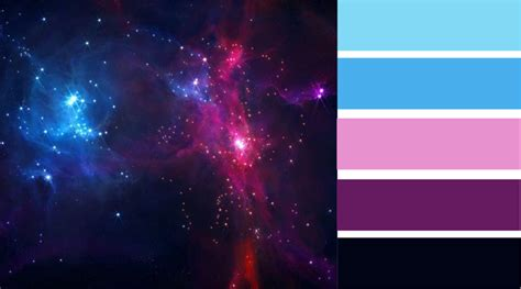 galaxy color palette stay and the