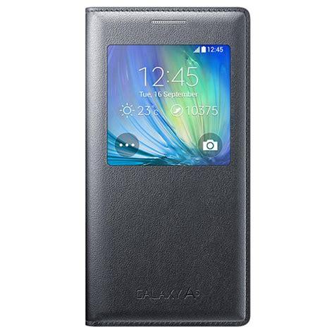 Flip Cover S View Samsung Galaxy A5 2015 A500 Auto Lock F Muur 2 samsung galaxy a5 2015 s view flip ef ca500bc