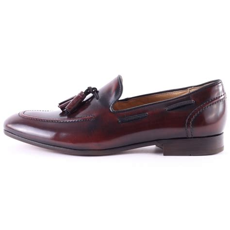 h by hudson loafers h by hudson mens loafers in burgundy