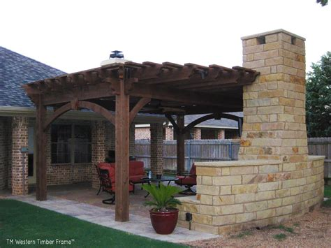 9 outdoor tv theater living areas western timber frame