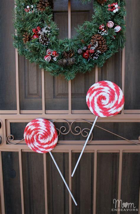 diy lollipop decorations diy peppermint lollipops decor