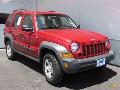 liberty colors 2006 inferno pearl jeep liberty sport 4x4 10229169