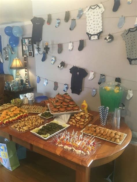 Boy Baby Shower Appetizers by Boy Baby Shower Finger Foods Appetizers Blue Punch