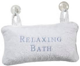 spa luxury bath pillow velour free shipping