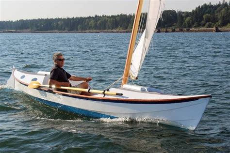 trimaran kit with folding akas the faering cruiser is a serious rowing and sailing boat