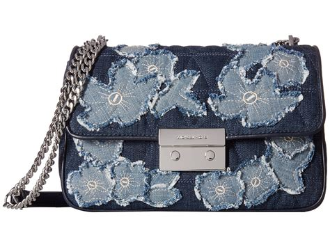 Michael Kors Sloan Denim Floral 61 more buying choices for michael kors black