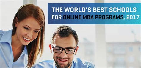 Best Mba Programs For Pharmacists by World S Best Schools For Mba Programs 2017