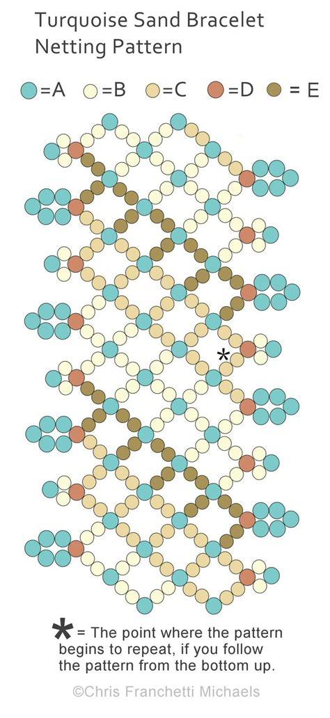 seed bead netting patterns best 25 beaded bracelet patterns ideas on