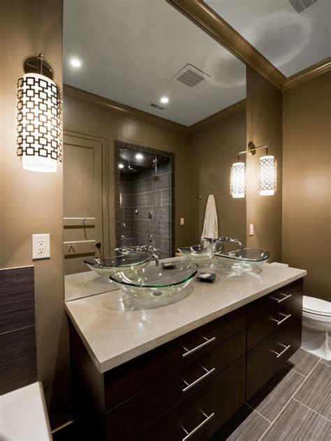 glass vessel sink ideas pictures remodel  decor