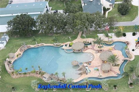 Backyard Pools Location World S Largest Backyard Swimming Pool Gives Home A