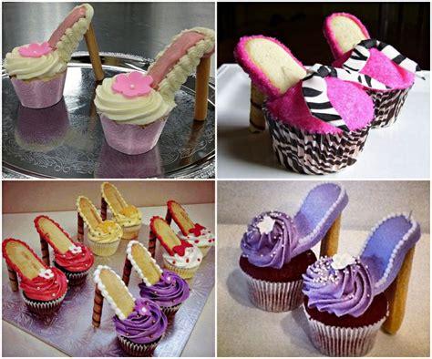 how to diy beautiful high heel cupcakes beesdiy