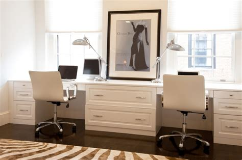 16 white home office furniture designs ideas plans