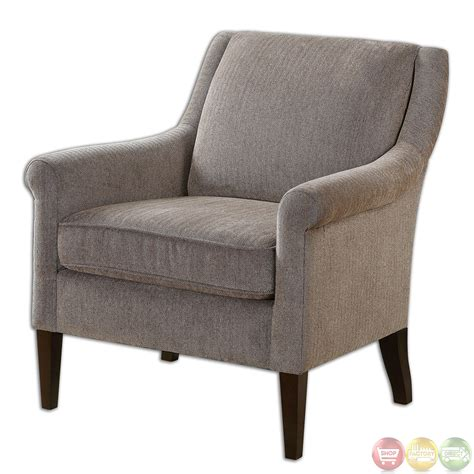 traditional armchairs nelle herringbone fabric upholstered accent armchair 23128
