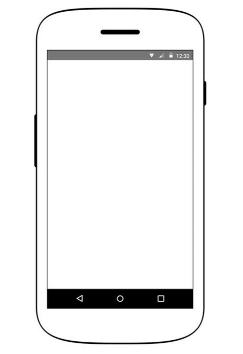 android template free android device wireframe psd titanui