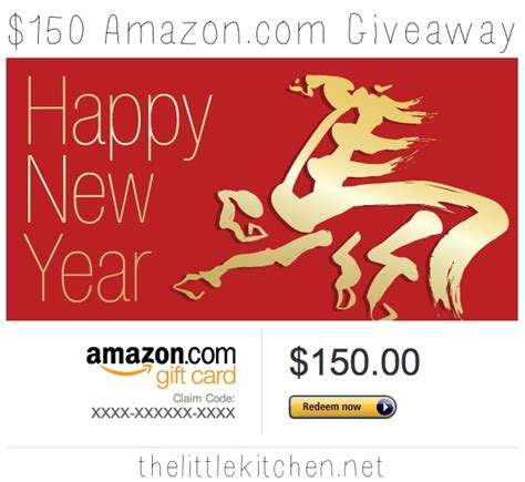 How Does Amazon Giveaway Work - 150 amazon com gift card giveaway the little kitchen