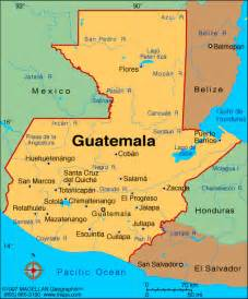 map central america guatemala