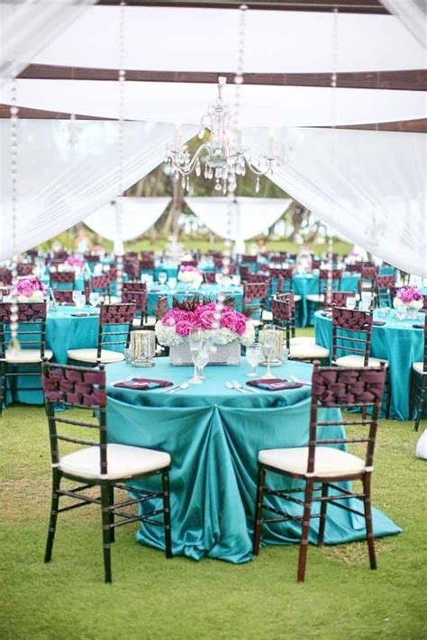 turquoise and pink wedding decorations pink and turquoise wedding theme ideas wedding dash
