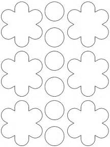 felt flower template 6 best images of printable felt flower template