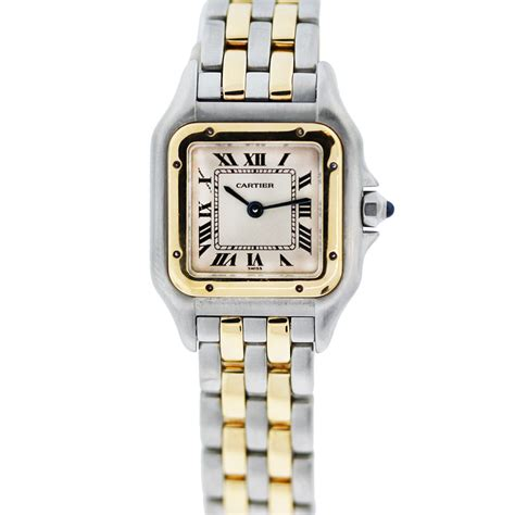 cartier panthere 1120 two tone quartz