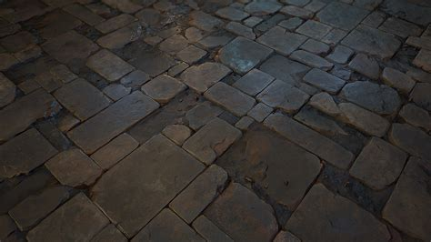 Rock Floor Tile Gallery Rock Tile Flooring 03 River Rock | stone floor tile 03 realtime on behance