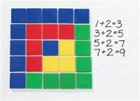 tile pattern in math 17 best images about math color tiles on pinterest
