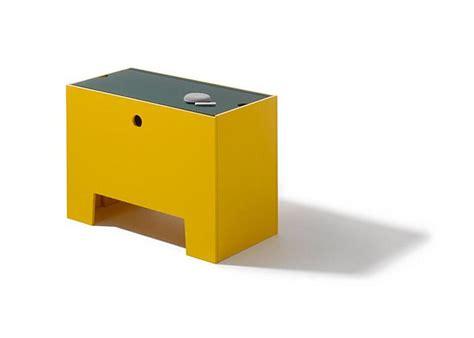 furtif desk is a striking futuristic piece of furniture wonder box multifunctional kids furniture by richard lert