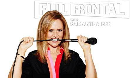 full frontal with samantha bee s01e33 frontal with bee tv fanart fanart tv