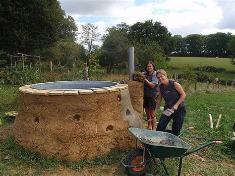 Outdoor Bathtub Wood Fired by 17 Images About Diy Hottub Anyone On Rocket Stoves Diy Wood And Stock Tank
