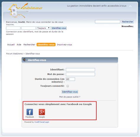 blogger forum se connecter au forum avec son compte facebook ou google