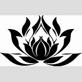 Lotus Flower Black And White Drawing | 2040 x 1257 jpeg 143kB