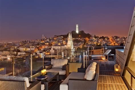 Roof Deck Contemporary Patio san francisco by