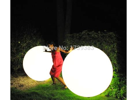 dia 80cm led big large ball light waterproof rechargeable