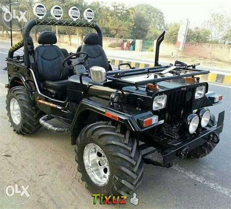open jeep modified in black colour mahindra jeep used diesel punjab mitula cars