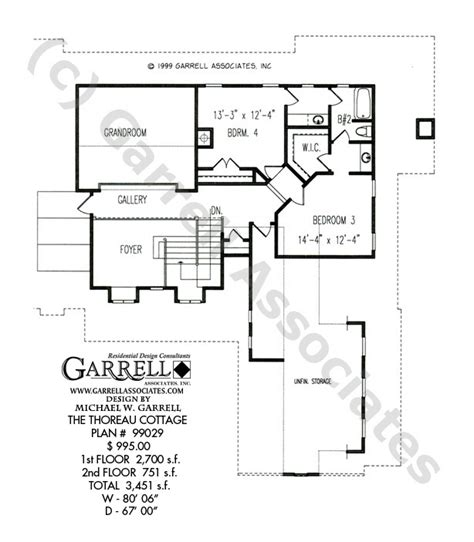 Daylight Basement Plans by Thoreau Cottage House Plan Daylight Basement Plans