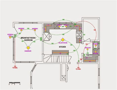 light wiring diagram for kitchen images