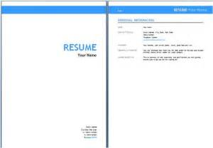 Cover Page Resume Exles by Cover Sheet Resume Template Http Jobresumesle