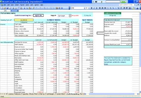 exle business template business spreadsheets excel templates finance excel