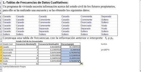 tabla de frecuencia variable cualitativa con excel youtube estad 237 stica descriptiva 2 distribuci 243 n de frecuencias de