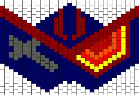 kandi mask pattern with numbers kandi patterns for kandi cuffs characters pony bead patterns