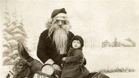 retro photos 10 creepy vintage christmas photos youtube