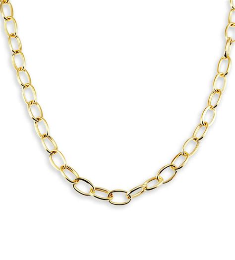 Chain Necklaces by Gold Chain Link Necklace Www Pixshark Images