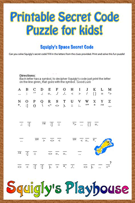 how to code for kids squigly s space secret code