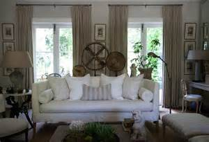 living room settee white slipcovered sofa french living room john jacob