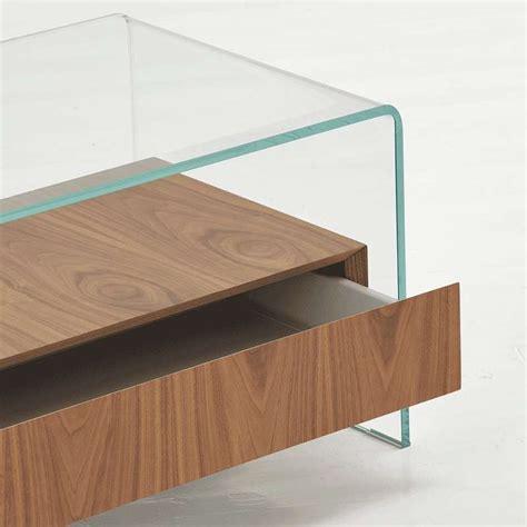 table basse en bois avec tiroir table basse en verre avec tiroir en bois bridge sovet