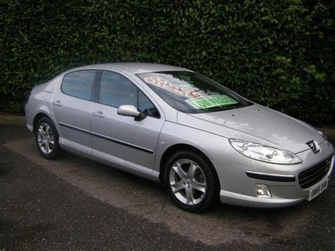 used peugeot for sale used peugeot 407 2006 diesel 2 0 hdi 136 se saloon silver