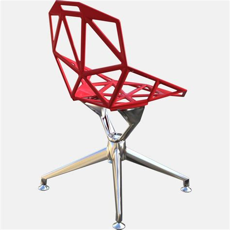 magis chair one 4star magis chair one with 4 base free 3d model