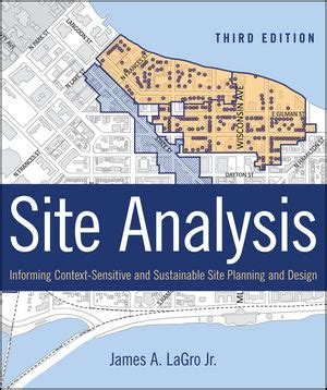 site planning and design wiley site analysis informing context sensitive and