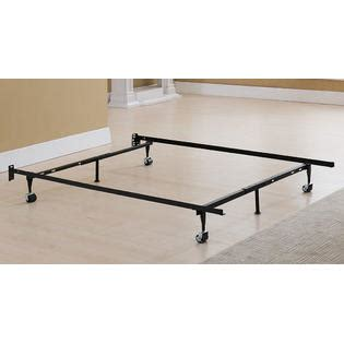bed frame on wheels greenhome123 xl metal bed frame with 4 rug roller wheels