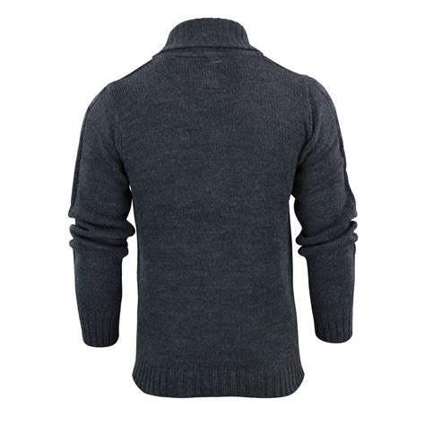 Sweater Brave mens cardigan jumper brave soul tractacus shaw neck cable button up sweater ebay